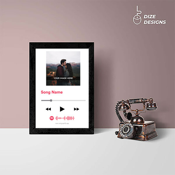 Custom Spotify Frame
