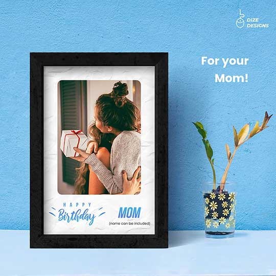 Birthday Frame for Mom